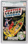 Silver Age (1956-1969):Superhero, Justice League of America #3 (DC, 1961) CGC Qualified NM 9.4 Off-white pages....