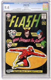 The Flash #130 (DC, 1962) CGC NM 9.4 White pages