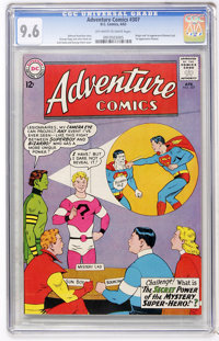 Adventure Comics #307 (DC, 1963) CGC NM+ 9.6 Off-white to white pages