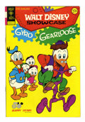 Bronze Age (1970-1979):Cartoon Character, Walt Disney Showcase #18 Signed by Carl Barks (Gold Key, 1973)Condition: VF-....