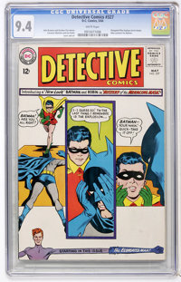 Detective Comics #327 (DC, 1964) CGC NM 9.4 White pages