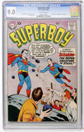Silver Age (1956-1969):Superhero, Superboy #68 (DC, 1958) CGC VF/NM 9.0 Off-white pages....
