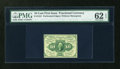 Fractional Currency:First Issue, Fr. 1241 10c First Issue PMG Uncirculated 62 EPQ....