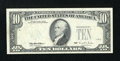 Error Notes:Third Printing on Reverse, Fr. 2032-H $10 1995 Federal Reserve Note. Very Fine.. ...