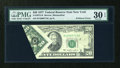 Error Notes:Foldovers, Fr. 2072-B $20 1977 Federal Reserve Note. PMG Very Fine 30 EPQ.....