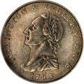 Colonials, 1783 1C Washington & Independence Cent, Draped Bust, ButtonAU50 PCGS....