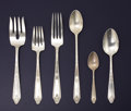 Silver & Vertu:Flatware, AN AMERICAN SILVER FLATWARE SERVICE. Whiting Manufacturing Company and Gorham Manufacturing Co.., Providence, Rhode Island, ... (Total: 35 Items)