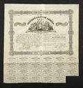 Confederate Notes:Group Lots, Ball 101 Cr. 94 $1000 1861 Bond Very Fine. . ...