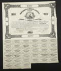 Confederate Notes:Group Lots, Ball 132 Cr. 21 $50 1861 Bond Fine.. ...