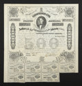 Confederate Notes:Group Lots, Ball 191 Cr. 124A $500 1863 Bond Very Fine.. ...
