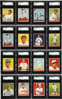 1933 Goudey Baseball High Grade Near Set (238/239). The 1933 Goudey baseball set is considered the king of the early gum...