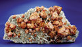 Minerals:Crystals, SCHEELITE ON QUARTZ. ...