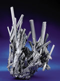 Minerals:Cabinet Specimens, STIBNITE CRYSTAL GROUP. ...