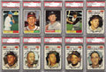 Baseball Cards:Sets, 1961 Topps Baseball Complete Set (587). Offered is a 1961 ToppsBaseball Complete Set in overall solid middle grade. There...