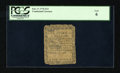 Colonial Notes:Continental Congress Issues, Continental Currency February 17, 1776 $1/3 PCGS Good 06....