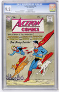 Silver Age (1956-1969):Superhero, Action Comics #266 (DC, 1960) CGC NM- 9.2 Off-white pages....