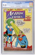 Silver Age (1956-1969):Superhero, Action Comics #254 (DC, 1959) CGC VF/NM 9.0 Off-white to white pages....