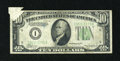 Error Notes:Attached Tabs, Fr. 2006-I $10 1934A Federal Reserve Note. Very Fine.. ...