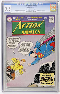 Action Comics #253 (DC, 1959) CGC VF- 7.5 Off-white to white pages