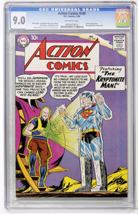 Action Comics #249 (DC, 1959) CGC VF/NM 9.0 Off-white pages