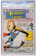 Silver Age (1956-1969):Superhero, Action Comics #241 (DC, 1958) CGC VF/NM 9.0 Off-white to white pages....