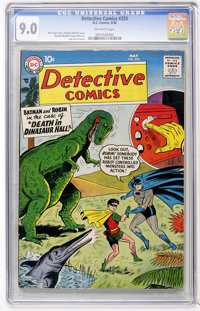Detective Comics #255 (DC, 1958) CGC VF/NM 9.0 Off-white pages