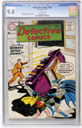 Silver Age (1956-1969):Superhero, Detective Comics #250 (DC, 1957) CGC VF/NM 9.0 Off-white pages....