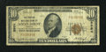 National Bank Notes:Virginia, Rocky Mount, VA - $10 1929 Ty. 1 The Peoples NB Ch. # 8984. ...