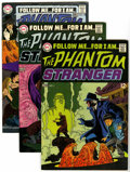 Bronze Age (1970-1979):Horror, The Phantom Stranger Group (DC, 1969-76) Condition: Average VF....(Total: 23 Comic Books)