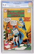 Silver Age (1956-1969):Superhero, Detective Comics #267 (DC, 1959) CGC NM- 9.2 Off-white to white pages....