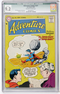 Adventure Comics #231 (DC, 1956) CGC Qualified NM- 9.2 Off-white to white pages