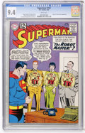 Silver Age (1956-1969):Superhero, Superman #152 (DC, 1962) CGC NM 9.4 White pages....