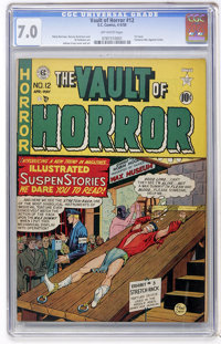 Vault of Horror #12 (EC, 1950) CGC FN/VF 7.0 Off-white pages