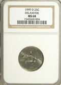 Statehood Quarters: , 1999-D 25C Delaware MS68 NGC. NGC Census: (28/0). PCGS Population(1/0). Numismedia Wsl. Price for NGC/PCGS coin in MS68: ...