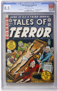 Golden Age (1938-1955):Horror, Tales of Terror Annual #3 (EC, 1953) CGC VF+ 8.5 Cream to off-white pages....
