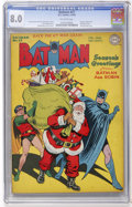 Golden Age (1938-1955):Superhero, Batman #27 (DC, 1945) CGC VF 8.0 Off-white pages....