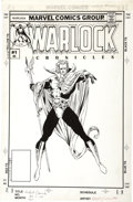 Original Comic Art:Covers, Tom Raney and Keith Williams - Warlock Chronicles #1 Cover OriginalArt (Marvel, 1993)....