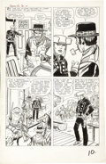 Original Comic Art:Panel Pages, Jack Kirby and Dick Ayers - Rawhide Kid #32, page 8 Original Art(Marvel, 1963)....