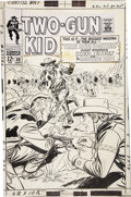 Original Comic Art:Covers, Ogden Whitney - Two-Gun Kid #89 Cover Original Art (Marvel,1967)....