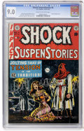 Golden Age (1938-1955):Horror, Shock SuspenStories #6 (EC, 1952) CGC VF/NM 9.0 Cream to off-whitepages....