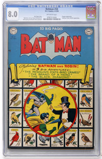 Batman #58 (DC, 1950) CGC VF 8.0 Off-white pages