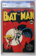 Golden Age (1938-1955):Superhero, Batman #4 (DC, 1940) CGC GD/VG 3.0 Off-white pages....