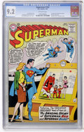 Silver Age (1956-1969):Superhero, Superman #162 (DC, 1963) CGC NM- 9.2 Off-white pages....