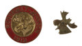 Political:Pinback Buttons (1896-present), Theodore Roosevelt: Bull Moose Party Pins from 1912,... (Total: 2 Items)