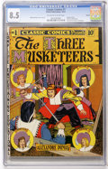 Golden Age (1938-1955):Classics Illustrated, Classic Comics #1 The Three Musketeers - Denver pedigree (Elliott,1941) CGC VF+ 8.5 Off-white to white pages....