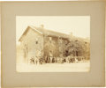 Military & Patriotic:Civil War, Albumen Photograph of U.S. Christian Commission in Richmond,...