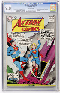 Action Comics #252 (DC, 1959) CGC VF/NM 9.0 Off-white pages