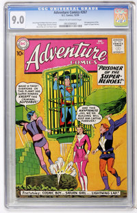 Adventure Comics #267 (DC, 1959) CGC VF/NM 9.0 Cream to off-white pages