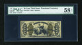 Fractional Currency:Third Issue, Fr. 1343 50c Third Issue Justice PMG Choice About Unc 58 EPQ....