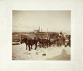 Photography:Cabinet Photos, Photograph of Grand Encampment Stagecoach, ca 1890-1900....